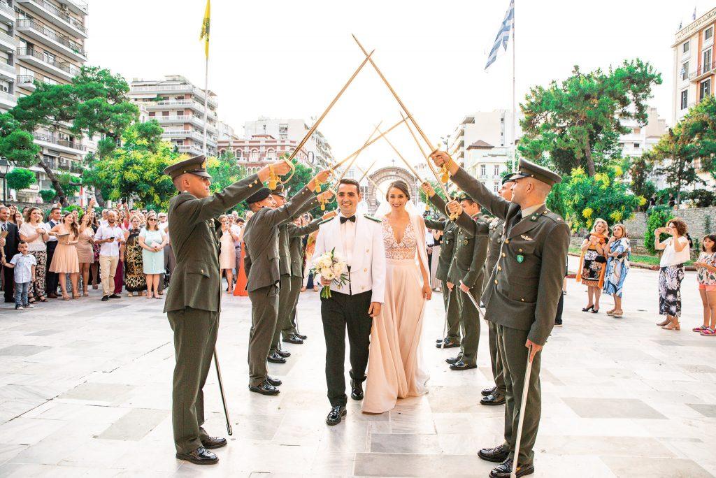 Φωτογραφιση γαμου Αγια Σοφια Θεσσαλονικη