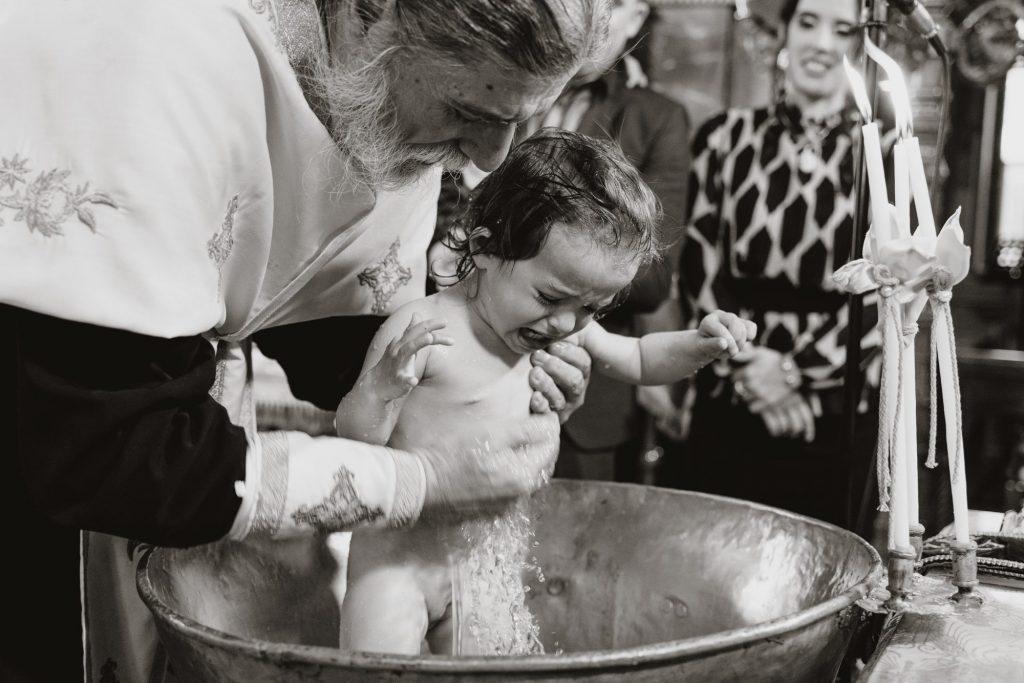 Φωτογράφηση βάπτισης στην Θεσσαλονίκη